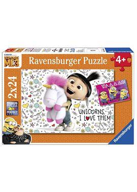Puzzle gru, mi villano favorito 3 2 x24 - 26907811