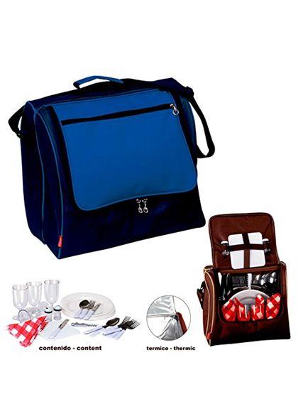 Bolsa nevera pr picnic b azul - 75654574