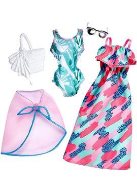 Barbie moda verano dos conjuntos