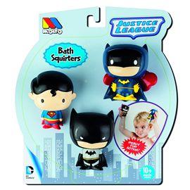 Set de 3 superhéroes para bañera