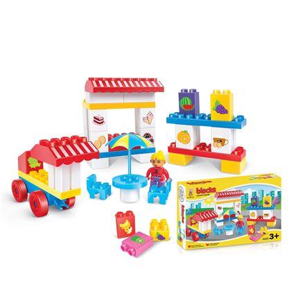 Bloques construcción supermercado 47 pzas - 87862549