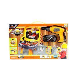 Caja herramientas con taladro eléctrico