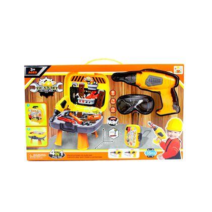 Caja herramientas con taladro eléctrico - 87884135(2)
