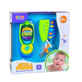 Teléfono y llaves infantiles
