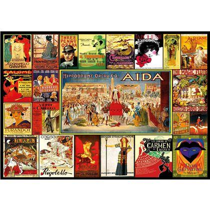 Puzzle 3000 collage de óperas - 04017676(1)