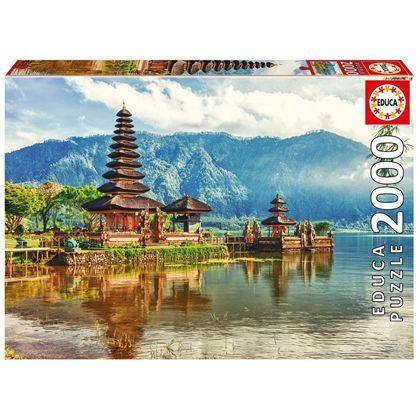 Puzzle 2000 templo ulun danu, bali, indonesia - 04017674