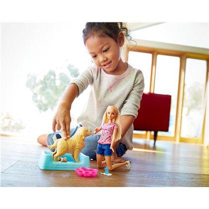Barbie y sus perritos sorpresa - 24546562(4)