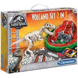 Arquejugando t-rex + volcan