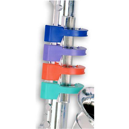Saxofon plateado 4 notas 37 cm - 07923931(2)
