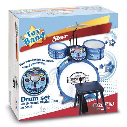 Bateria 4 pzas. drum set tutor - 07925602(1)