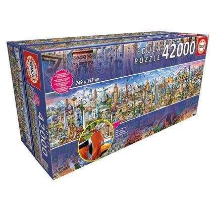 Puzzle 42000 la vuelta al mundo - 04017570