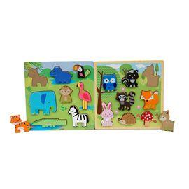 Puzzle madera 8 pzas