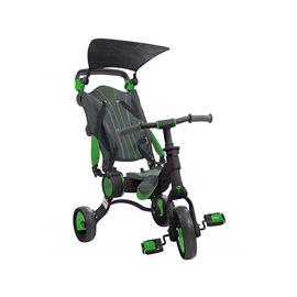 Triciclo galileo negro-verde plegable