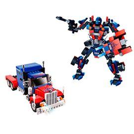 Robot construcción 377 pzas 2 en 1