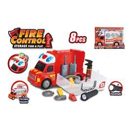 Camión bomberos con luz y sonido