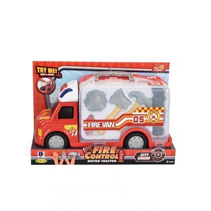 Camión bomberos con luz y sonido - 87890571(1)