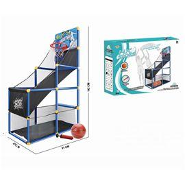 Juego basket 142x47x91 cm con pelota e inflador