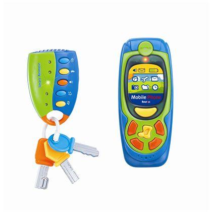 Teléfono y llaves infantiles - 97200123(1)
