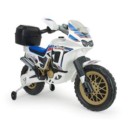 Moto honda africa twin 6v blanca - 18506820