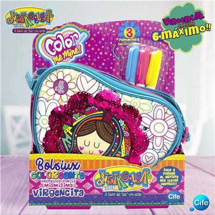 Color me mine bolso pequeño corazon virgencitas - 30541708