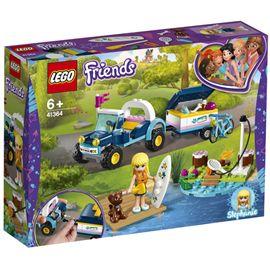 Buggy y remolque de stephanie lego friends