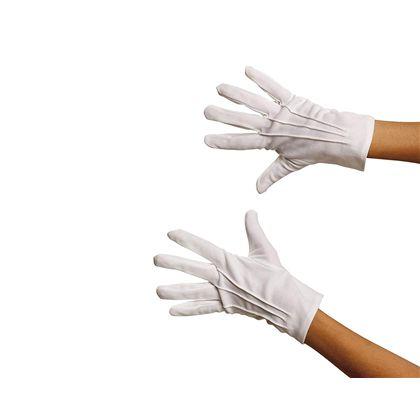 Guante corto blanco adulto - 55221413