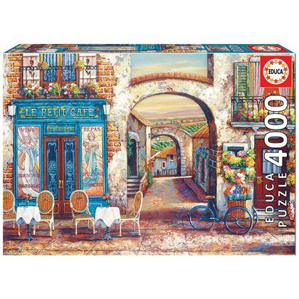 Puzzle 4000 le petit café - 04018014