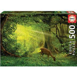 Puzzle 500 pequeño ciervo