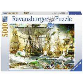 Puzzle 5000 batalla en alta mar