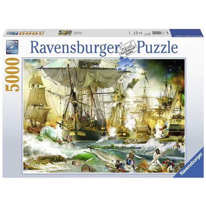 Puzzle 5000 batalla en alta mar - 26913969