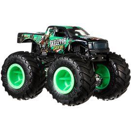 Hot wheels monster trucks 1:24 skeleton crew