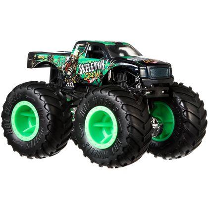 Hot wheels monster trucks 1:24 skeleton crew - 24573694
