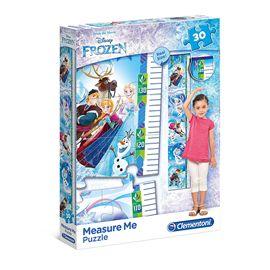Puzzle 30 piezas frozen y medidor