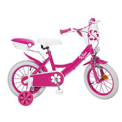 """Bicicleta 14"""" colors rosa - 34314122"""