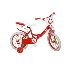"""Bicicleta 16"""" colors roja"""