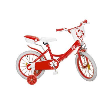 """Bicicleta 16"""" colors roja - 34316235"""
