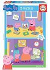 Puzzle 2x20 peppa pig - 04018087