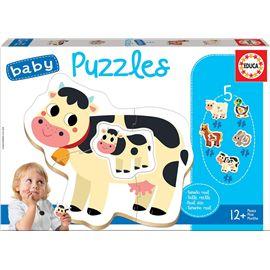 Puzzle infantil la granja
