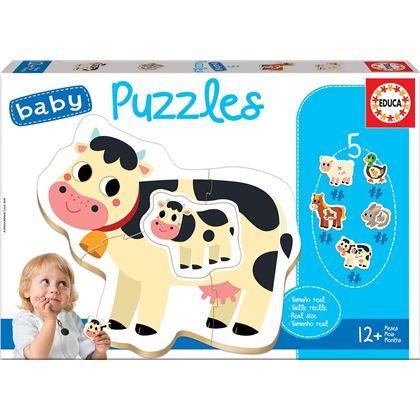 Puzzle infantil la granja - 04017574