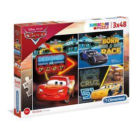 Puzzle 3x48 cars