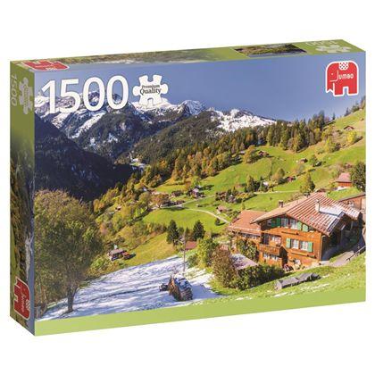 Puzzle 1500 bernese oberland - 09518587