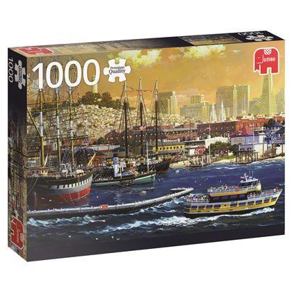 Puzzle 1000 bahia san francisco - 09518552
