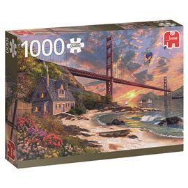 Puzzle 1000 golden gate san francisco