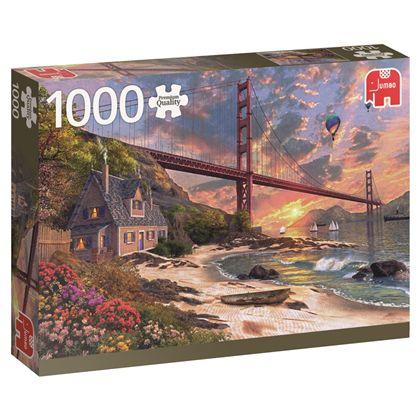 Puzzle 1000 golden gate san francisco - 09518333
