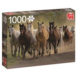 Puzzle 1000 tem of horses