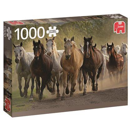 Puzzle 1000 tem of horses - 09518541