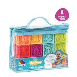 Bolsa cubos sensoriales 8 p.