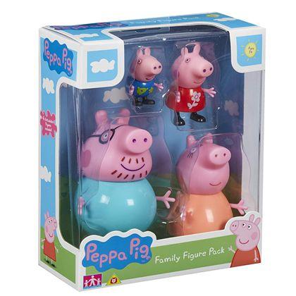 Pack 4 figuras peppa pig - 02506666
