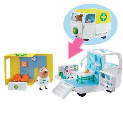 Ambulancia y centro médico peppa pig - 02506722(1)