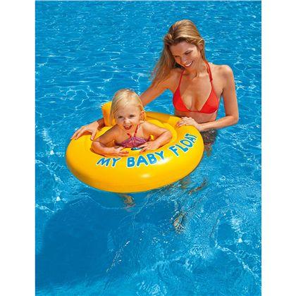 Flotador bebé 6 a 12 meses 70cm - 90756585(1)
